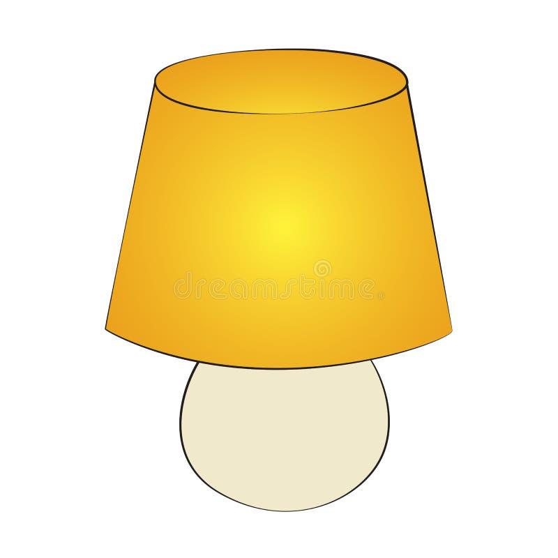 Lampe illustration stock