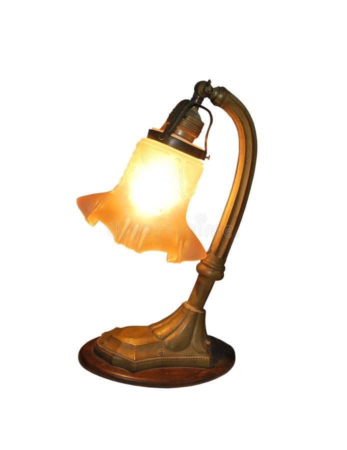 Lampe antique photo libre de droits