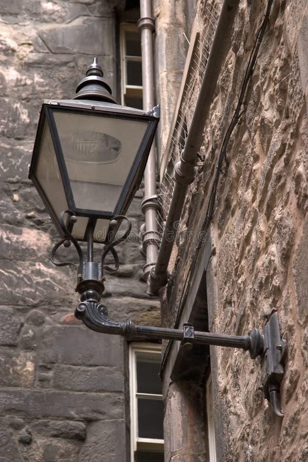 Lampe antique de Stret photo libre de droits