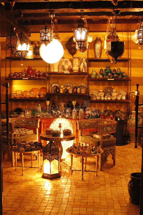 Lampe Arabe photographie stock
