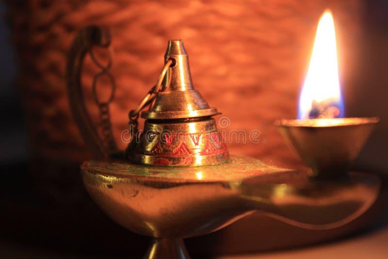 Lampe d'Aladin photos stock