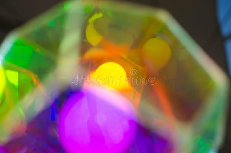 Lampe d'arc-en-ciel image libre de droits