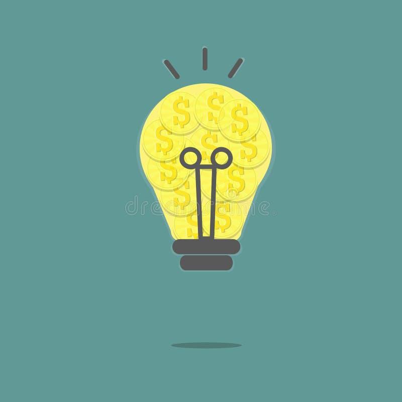 Lampe d'argent illustration de vecteur