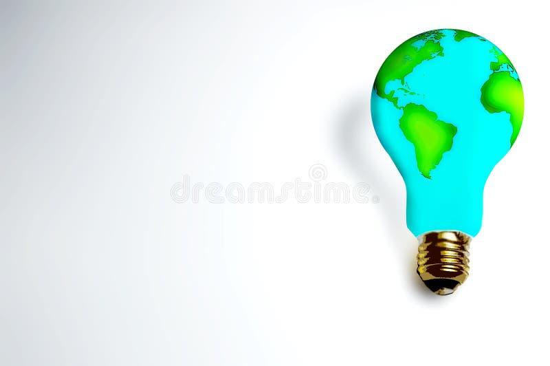 Lampe d'Earth_ illustration libre de droits