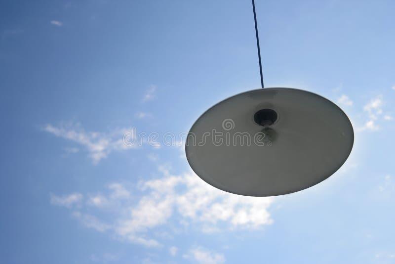 Lampe dans le ciel photos libres de droits