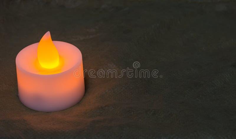 Lampe de bougie photographie stock
