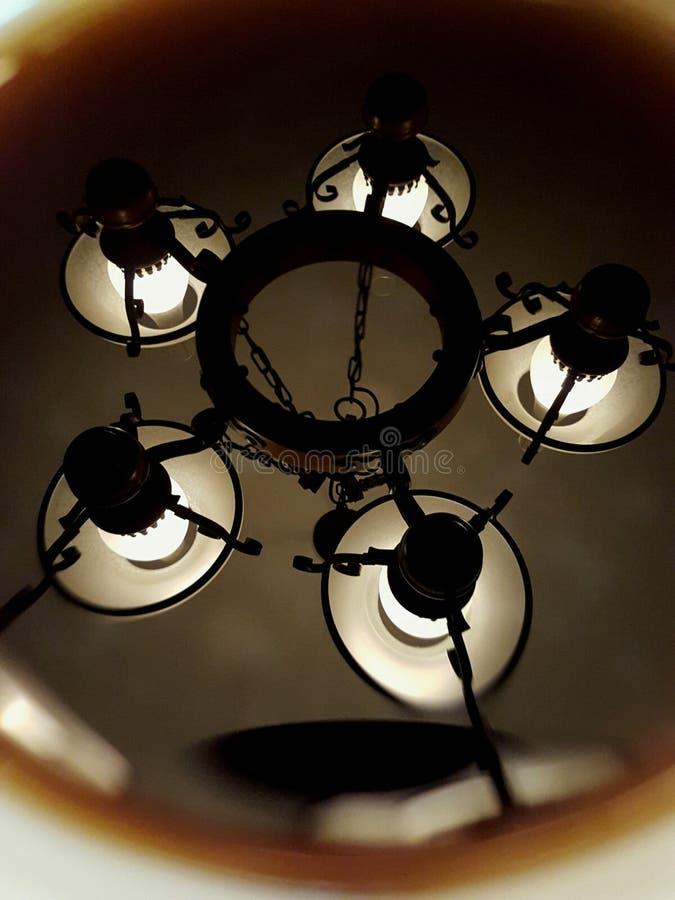 Lampe de café images libres de droits
