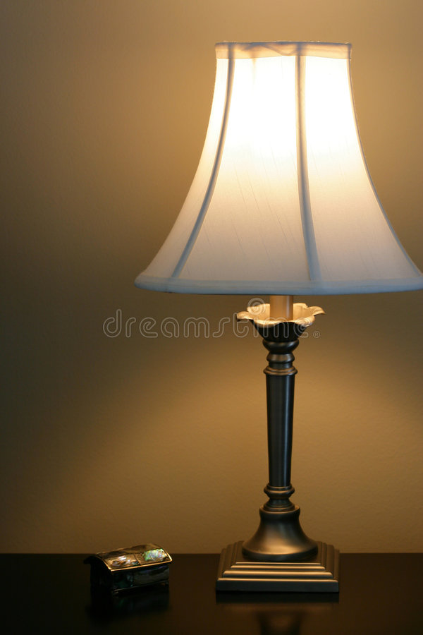 Lampe de chevet images stock