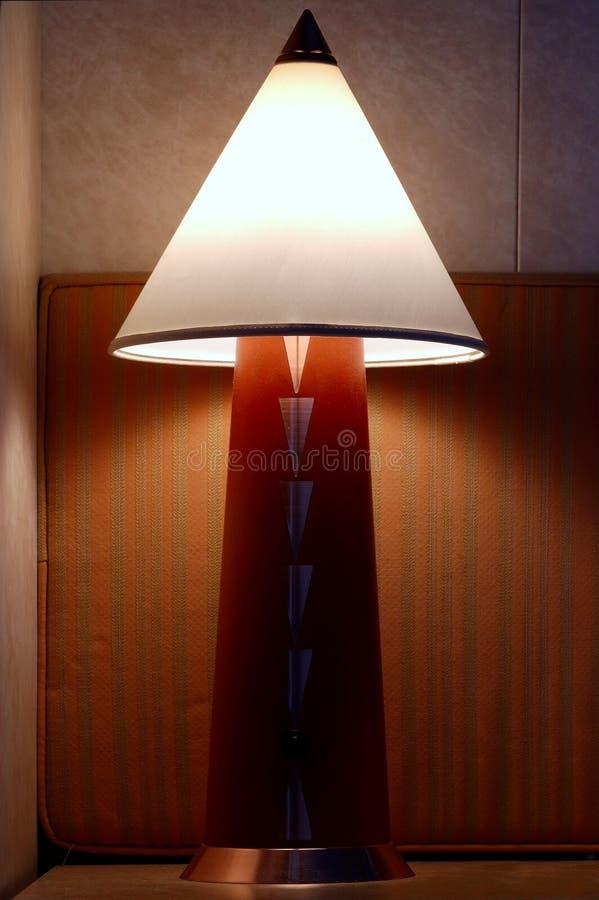 Lampe de chevet photographie stock libre de droits