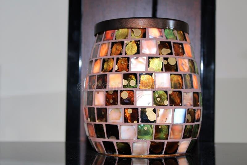 Lampe de décoration photo libre de droits