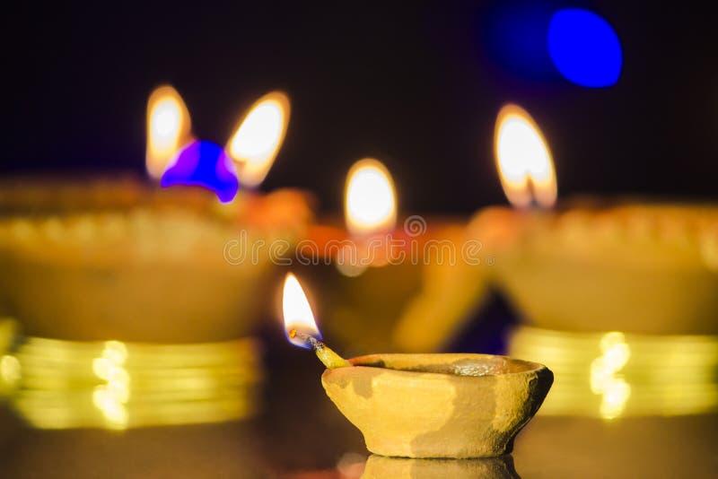Lampe de festival de Diwali image libre de droits