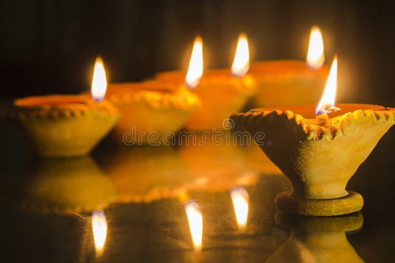 Lampe de festival de Diwali photo stock