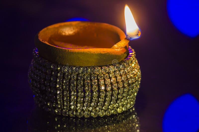 Lampe de festival de Diwali image stock