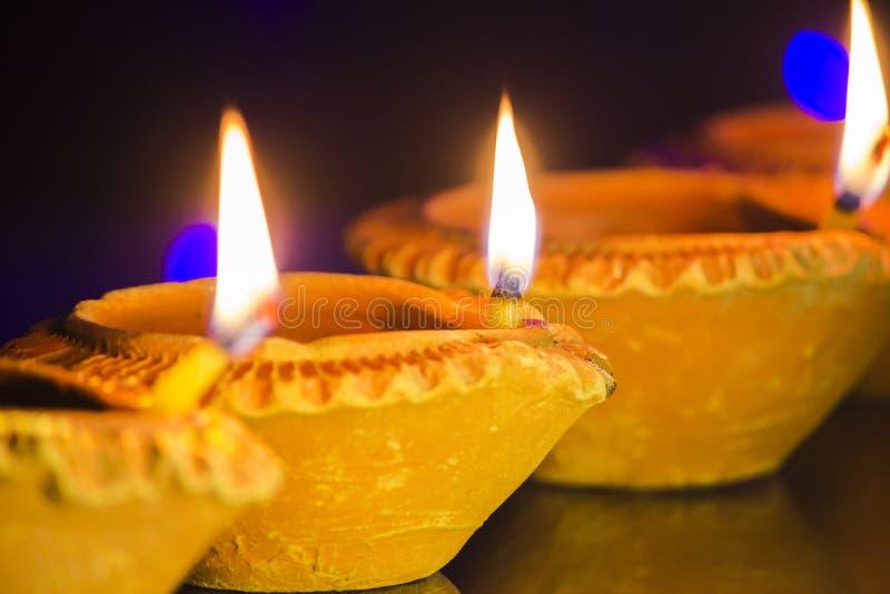 Lampe de festival de Diwali photographie stock libre de droits