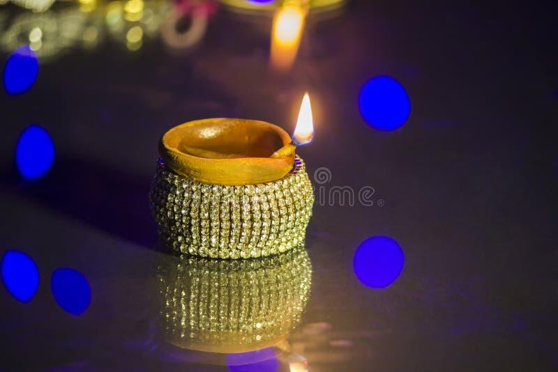 Lampe de festival de Diwali images stock