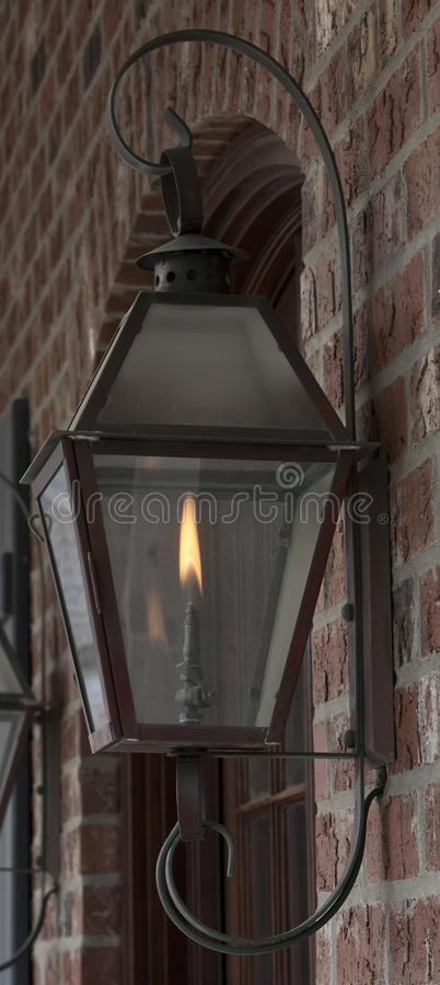 Lampe de gaz images libres de droits