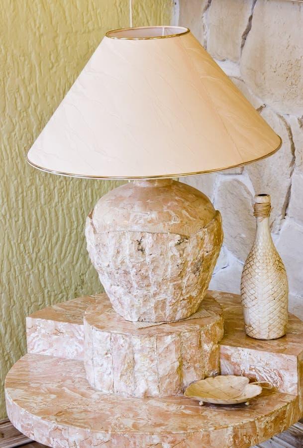 Lampe de granit photographie stock