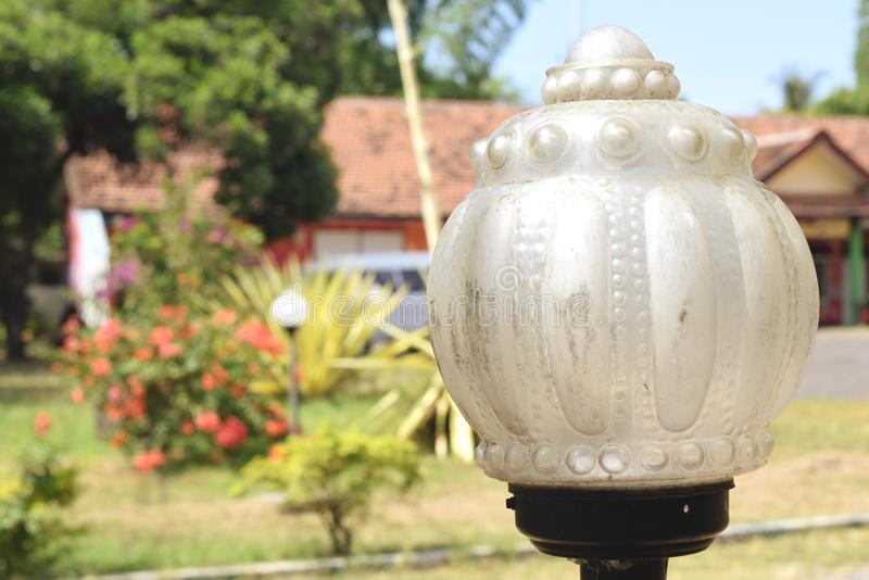 Lampe de jardin photos stock
