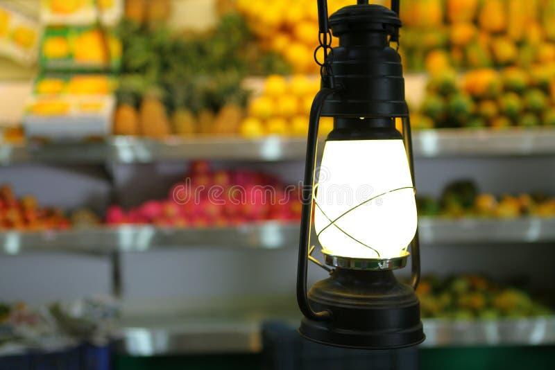 Lampe de kérosène de vintage photos stock
