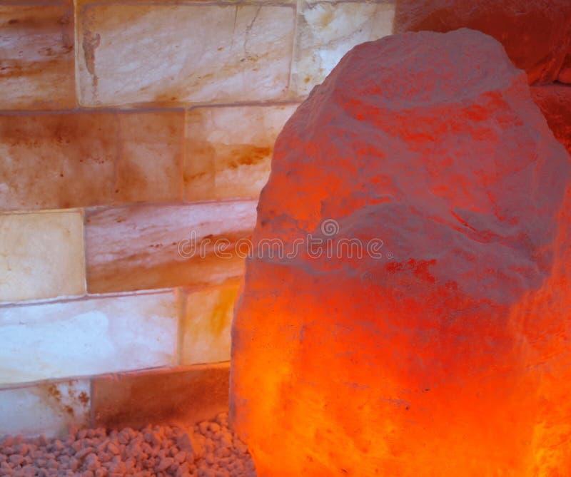 Lampe de l'Himalaya de sel image libre de droits