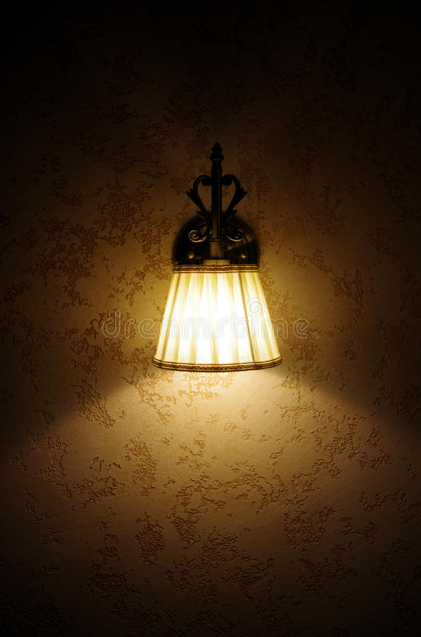 Lampe de mur photos stock