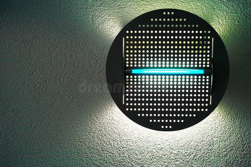 Lampe de mur moderne photo stock