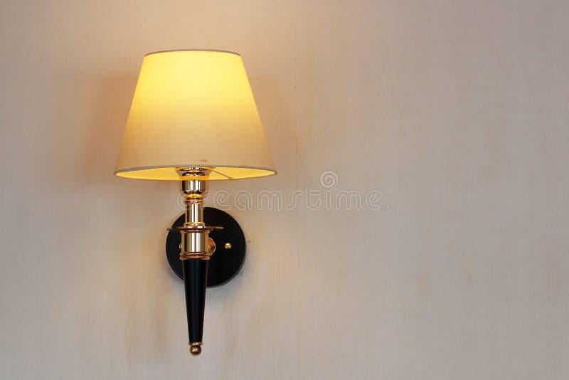 Lampe de mur de vintage photo libre de droits