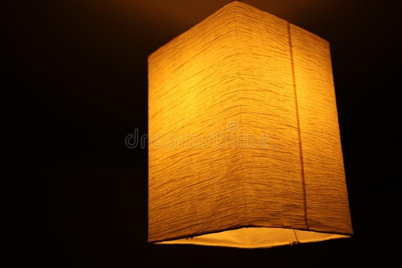 Lampe de papier image libre de droits