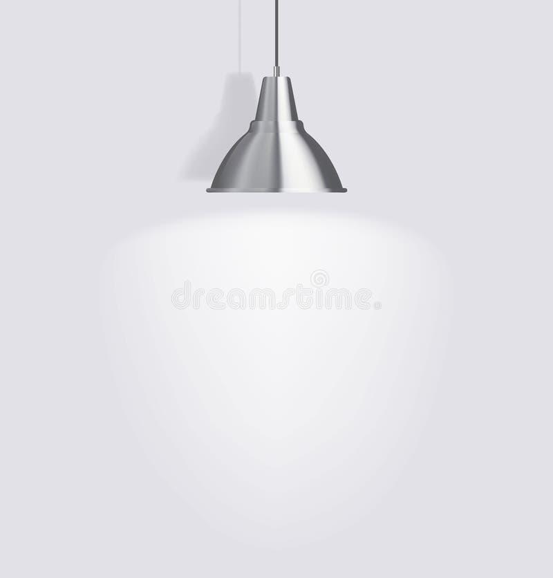 Lampe de plafond illustration libre de droits