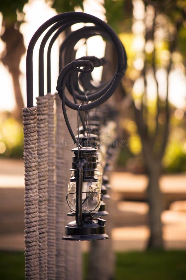 Lampe de plage images stock