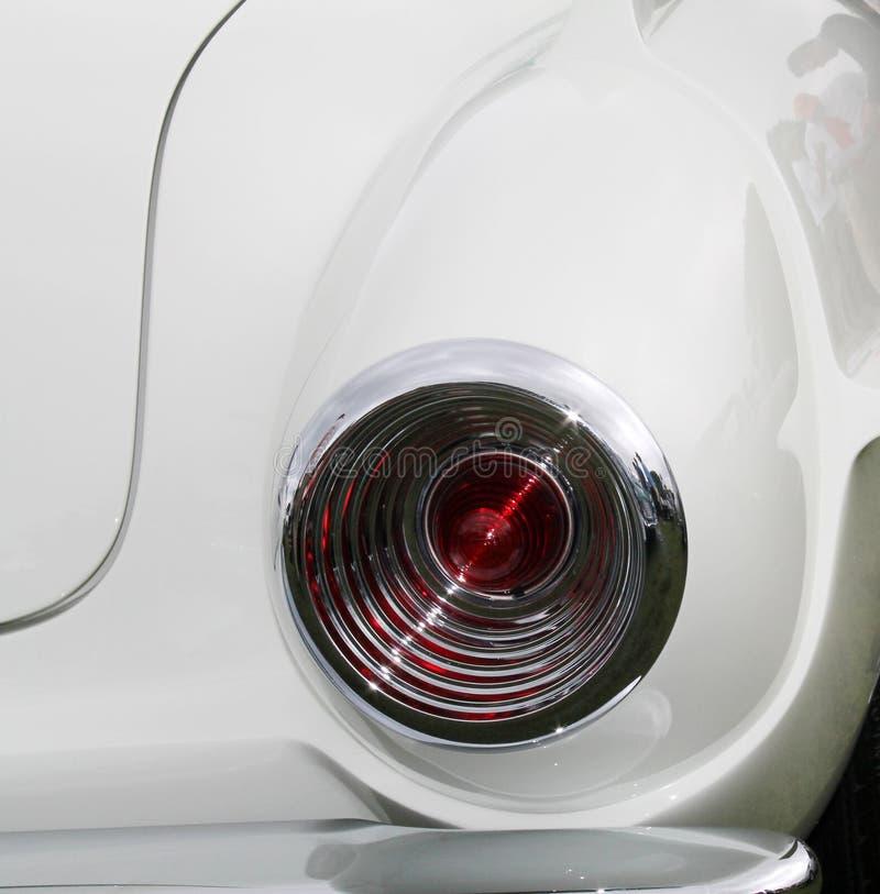 Lampe de queue artistique classique de voiture de sport photo libre de droits
