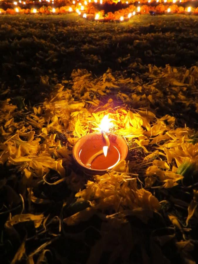 Lampe De Rituel De Diwali Image stock