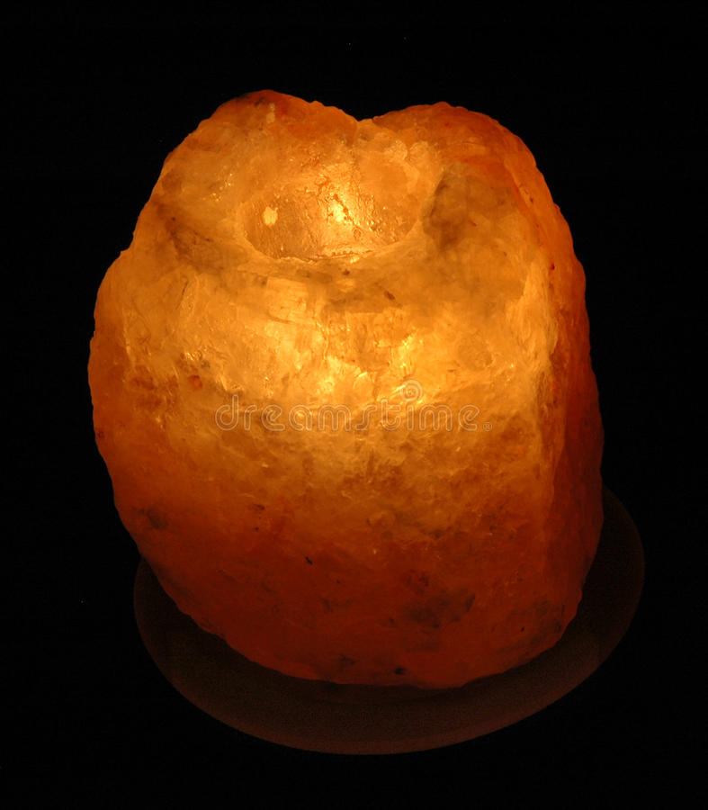 Lampe de sel photo libre de droits