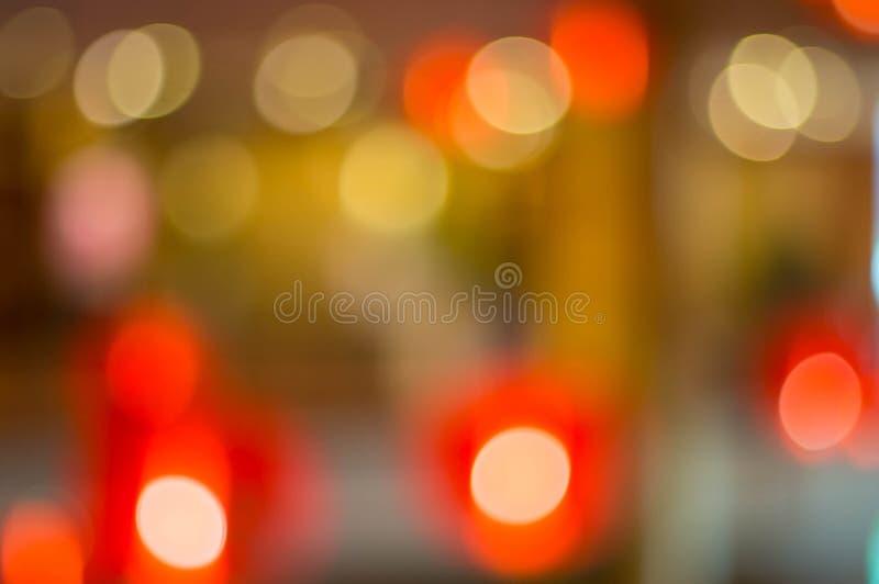 Lampe de style chinois avec les lumières colorées qui se focalisent comme colo images libres de droits