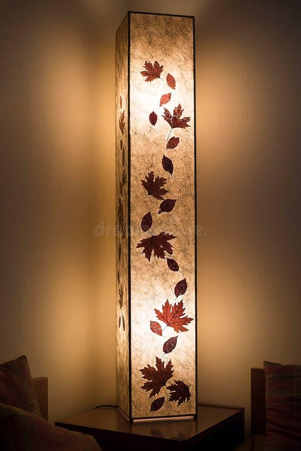 Lampe de table décorative image libre de droits