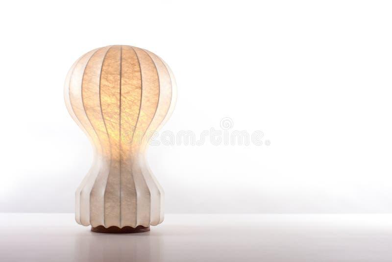 Lampe de table de vintage photo libre de droits