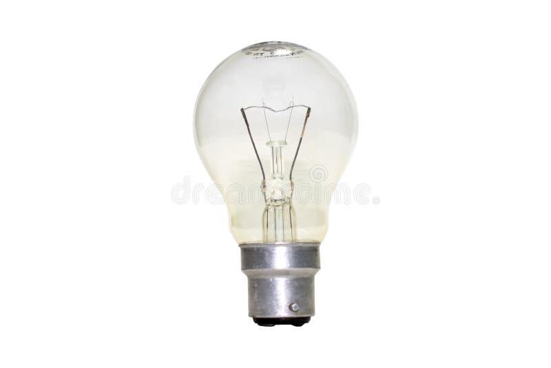 Lampe de tungstène photo libre de droits