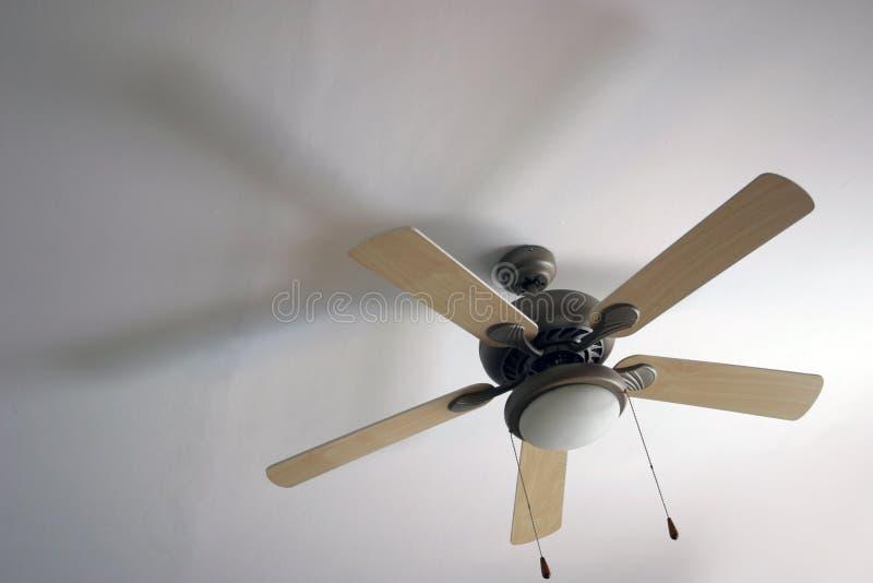Lampe de ventilateur photographie stock libre de droits