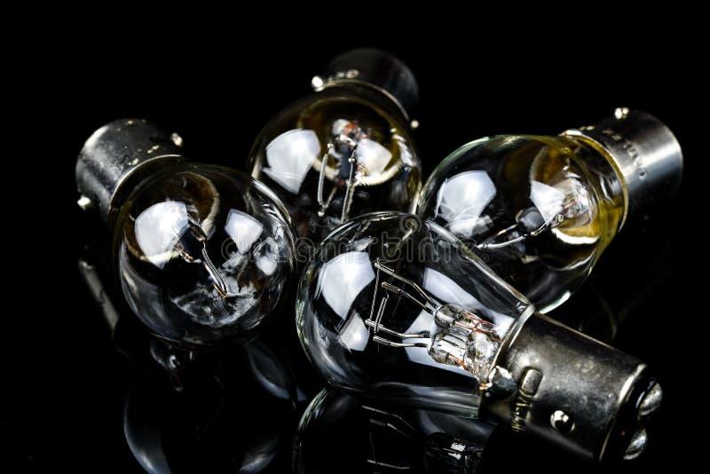 Lampe de voiture d'halogène photo stock