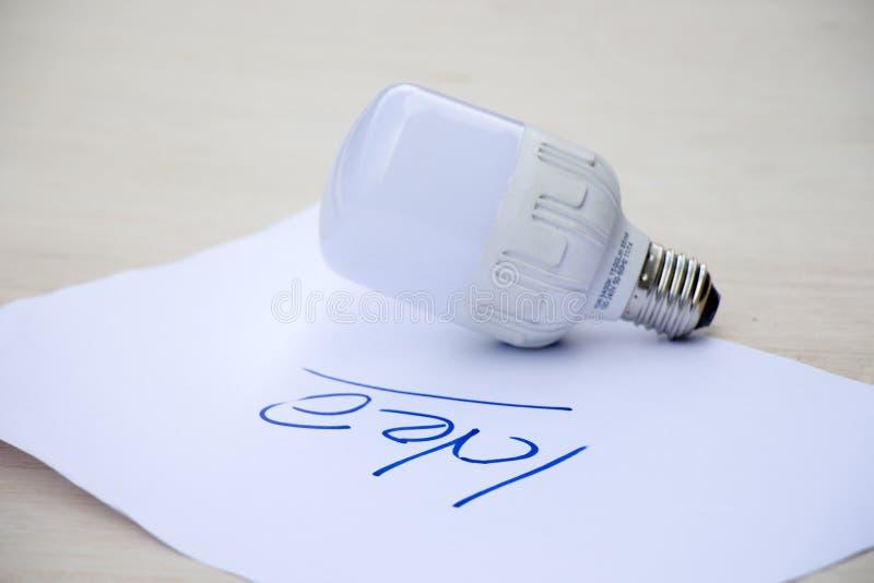 Lampe de Wite photographie stock