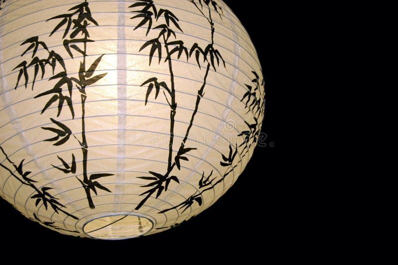 Lampe des chinesischen Papiers lizenzfreie stockfotografie