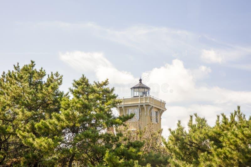 Lampe du phare de Hereford Inlet photo libre de droits