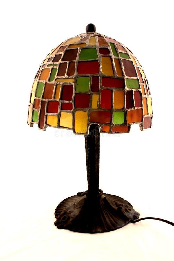 Lampe fabriquée à la main photographie stock libre de droits