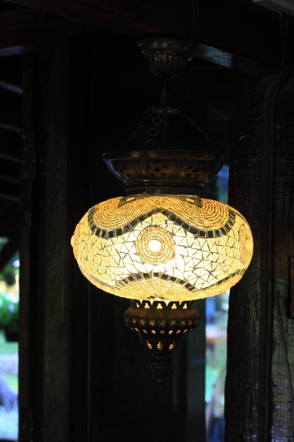 Lampe, Laterne stockfoto