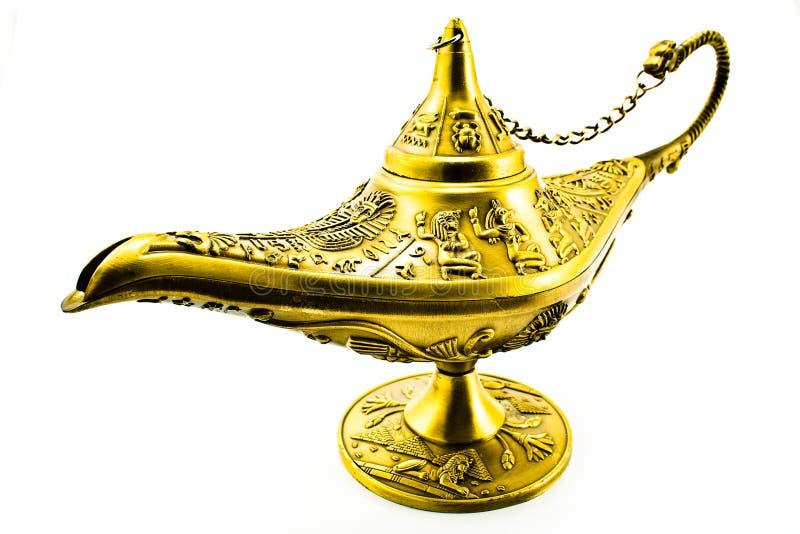 Lampe magique de génie du `s d'Aladdin photo libre de droits