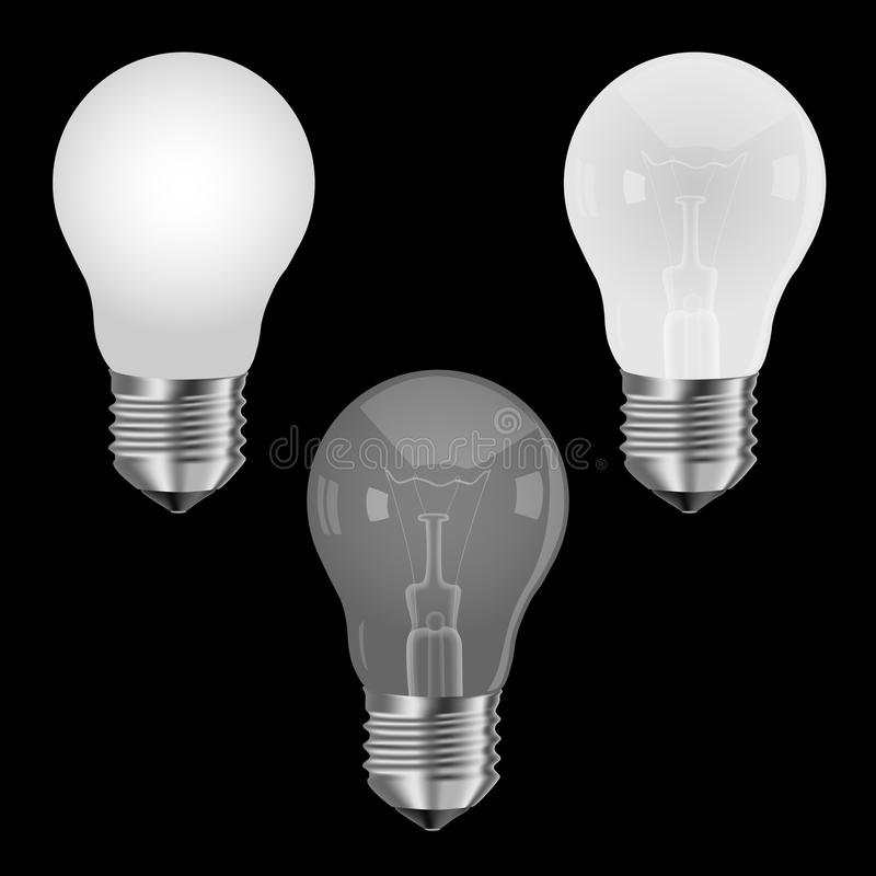 Lampe mate illustration de vecteur