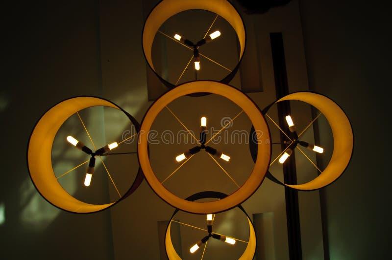Lampe moderne image libre de droits