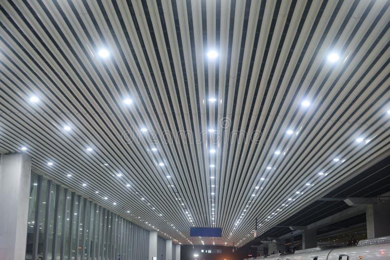 Lampe moderne de lumière de tir sur le toit photo libre de droits