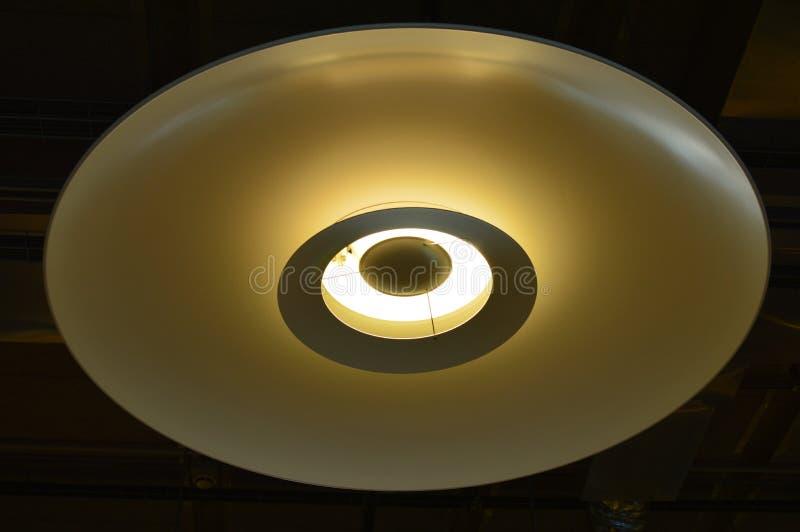 Lampe pittoresque de plafond Texture de fond photo stock