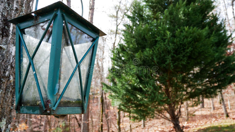 Lampe rustique images stock